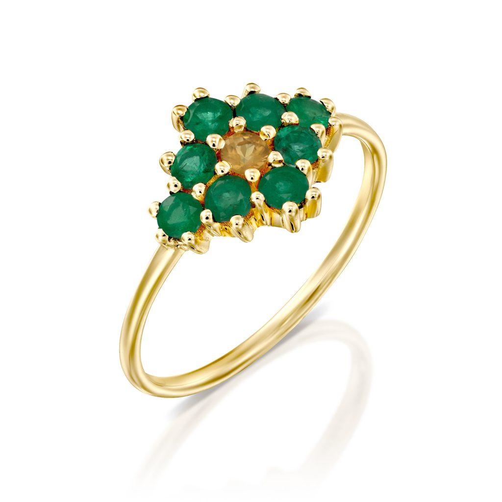 טבעת נסיכות בזהב